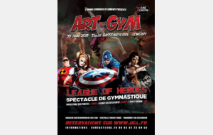 Informations gymnastes spectacle Art & Gym